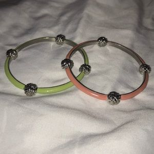 Pair of Vineyard Vines bangle bracelets